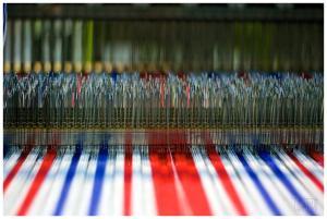 Textielmuseum roodwitblauw